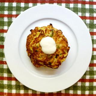Potato-Apple-Cheddar Pancakes