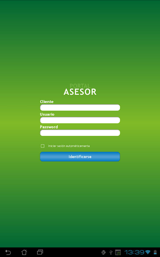 Portal Asesor - screenshot