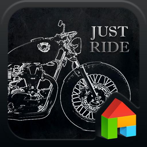 Just Ride dodol launcher theme