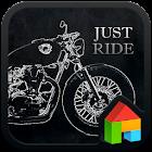 Just Ride dodol launcher theme icon