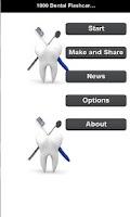 Screenshot of 1000 Dental Flashcards & Quiz