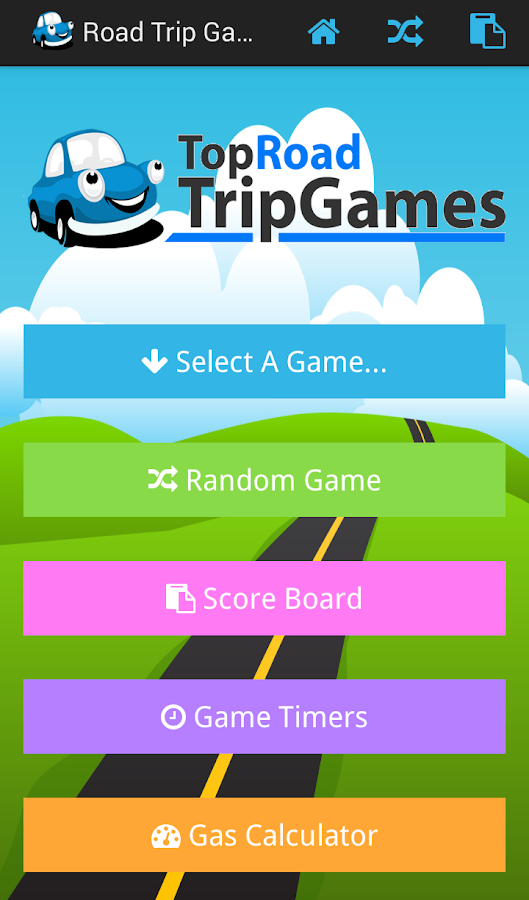 Road Trip Travel Games- screenshot