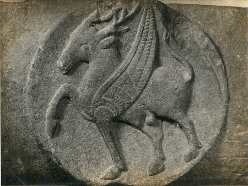 Medallion - Horse with wings
