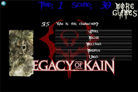 Legacy Of Kain Quiz ENGLISH