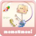 NK 카톡_모모N모니_ 나좀낚지마 카톡테마 icon