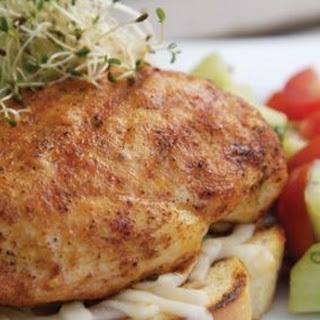 Open-Face Chicken Breast Sandwich
