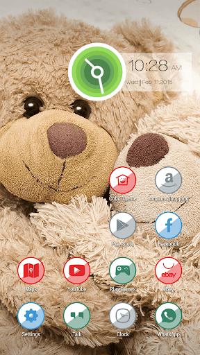 嬰兒泰迪熊玩具主題
