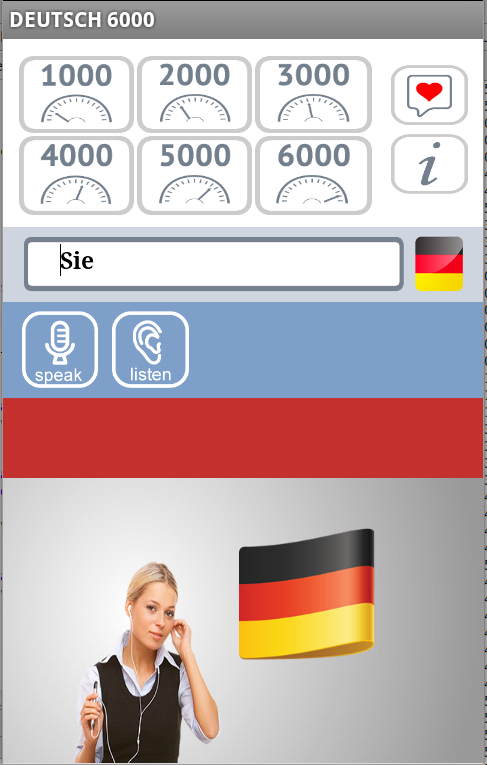 Deutsch 6000 Free- screenshot