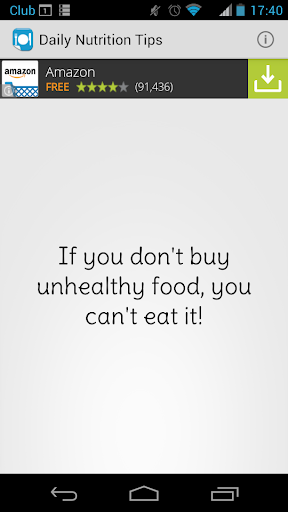 Daily Nutrition Tip