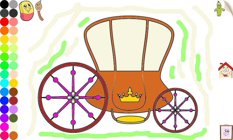 princess coloring games girls android apps on google play