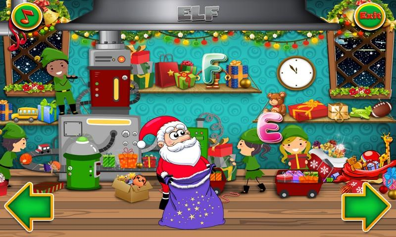 Christmas - Collect alphabet- screenshot