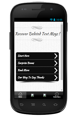 Recover Deleted Text Msgs Tips