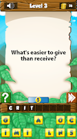 Screenshot of What the Riddle? Puzzle Games