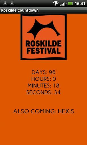 Roskilde 2014 Countdown