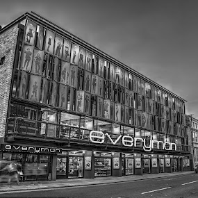 Everyman, Liverpool by Aiden Ogden - Buildings & Architecture Architectural Detail ( building, detail, hdr, black and white, architecture, cityscape, city )