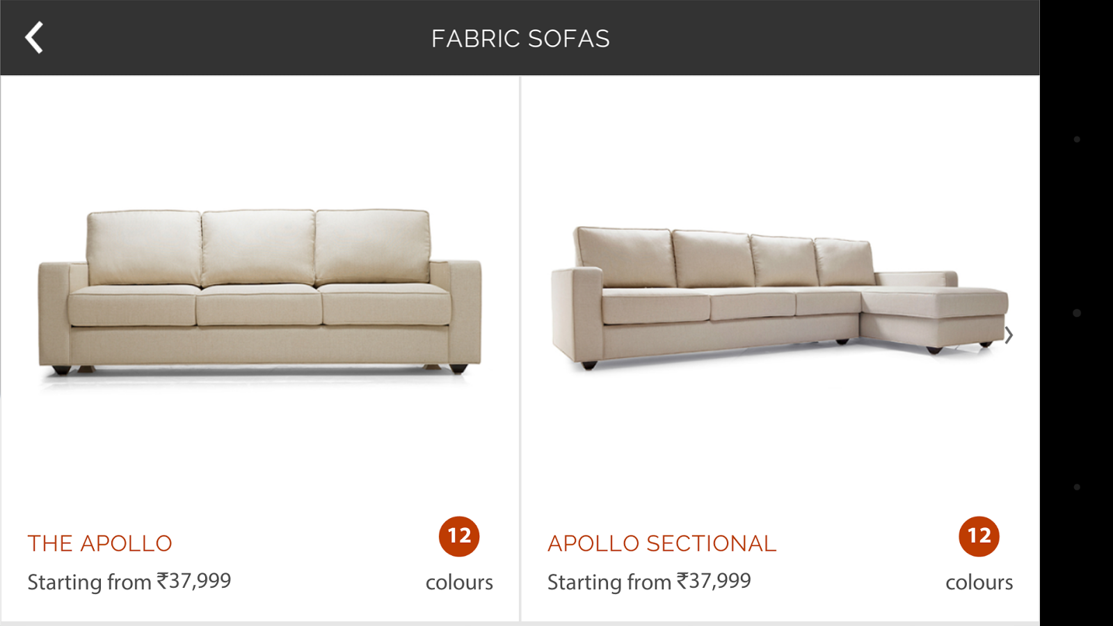 Living Spaces by UL Sofa App Android Apps on Google Play