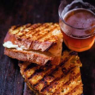 Grilled Mozzarella Sandwich.
