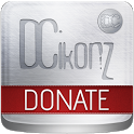 DCIkonZ Donate Silver icon