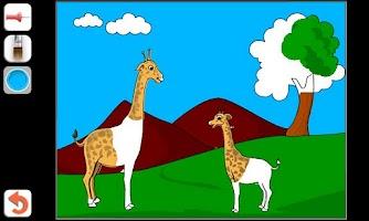 Screenshot of Kids Paint & Color Lite