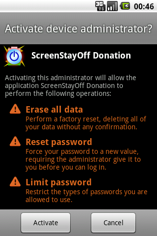 Screen Stay Off Donation