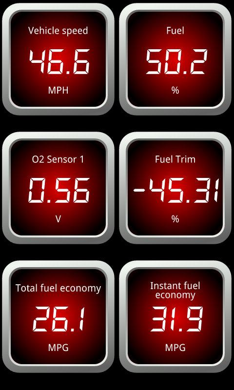 OBDLink (OBD car diagnostics) - screenshot