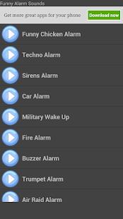 Podivné Zvuky Alarm - náhled