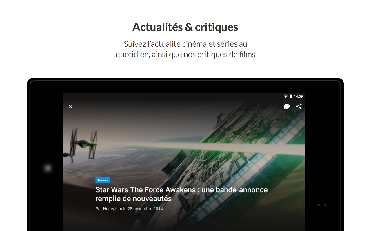 Ciné-Loisirs - screenshot