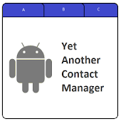 Yet Another Contact Manager