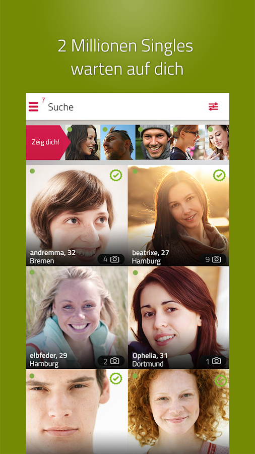 Single.de Flirt, Dating & Chat- screenshot