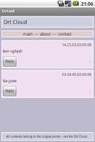Screenshot of Ortoid - Ort Cloud Browser