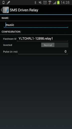 SMS Driven Relay