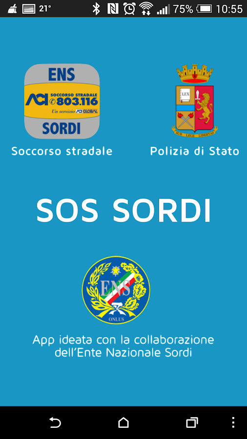 SOS sordi- screenshot