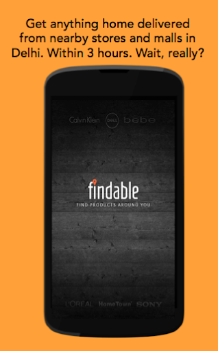 Findable: Home Delivery App