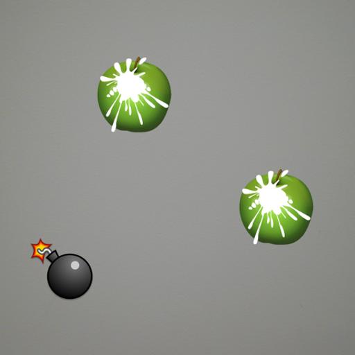 FruitCutX 動作 LOGO-玩APPs