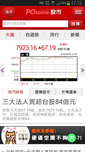 PChome 股市