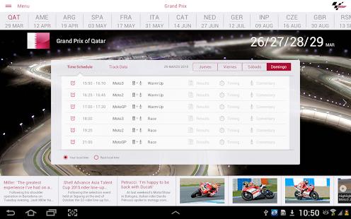 MotoGP Live Experience 2015 - screenshot