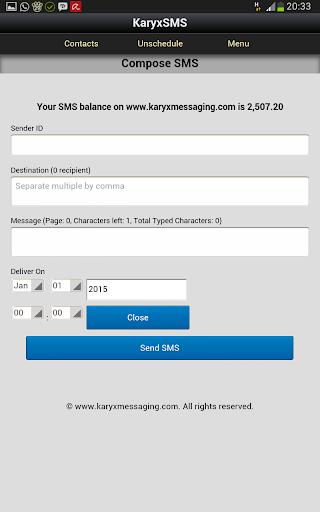 KaryxSMS