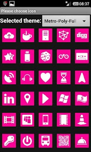 MetroPoly MAGENTA (Go Theme) - screenshot thumbnail