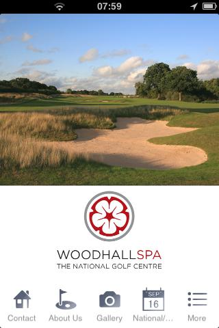 Woodhall Spa Golf Club - screenshot