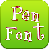 Pen Font for Samsung Galaxy