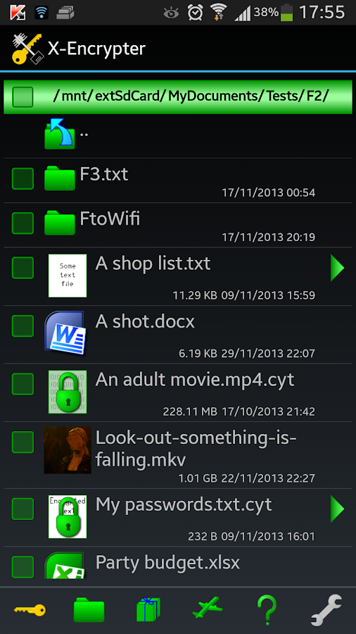 X-Encryptor- screenshot