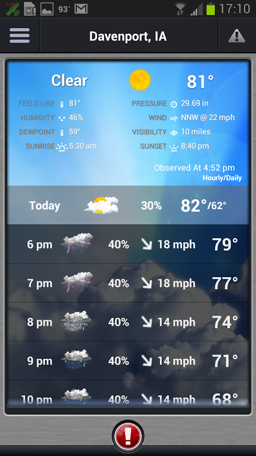 Storm Track 8 Weather - screenshot