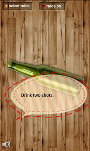 Spin the bottle (make rules) - screenshot thumbnail