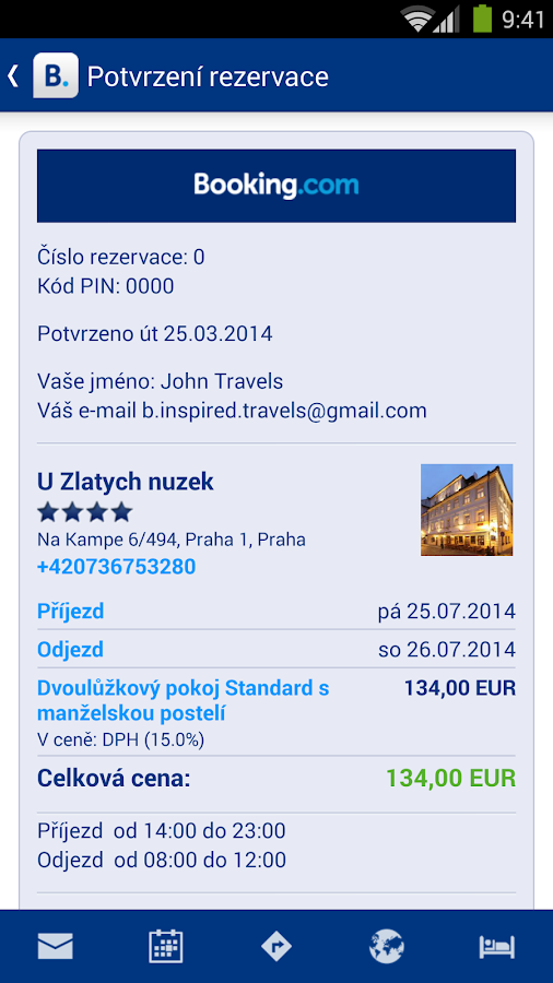 Booking.com - 445 000+ hotelů - screenshot