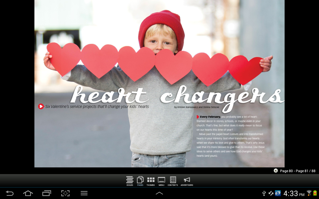 Children's Ministry Magazine- screenshot
