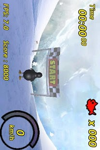 Penguin Skiing 3D - screenshot thumbnail