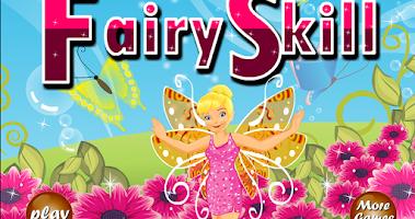 Screenshot of Fairy elementary math game