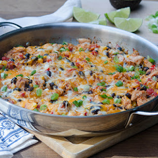 Tex-Mex Chicken and Rice Skillet.