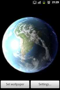 Earth Live Wallpaper - screenshot thumbnail