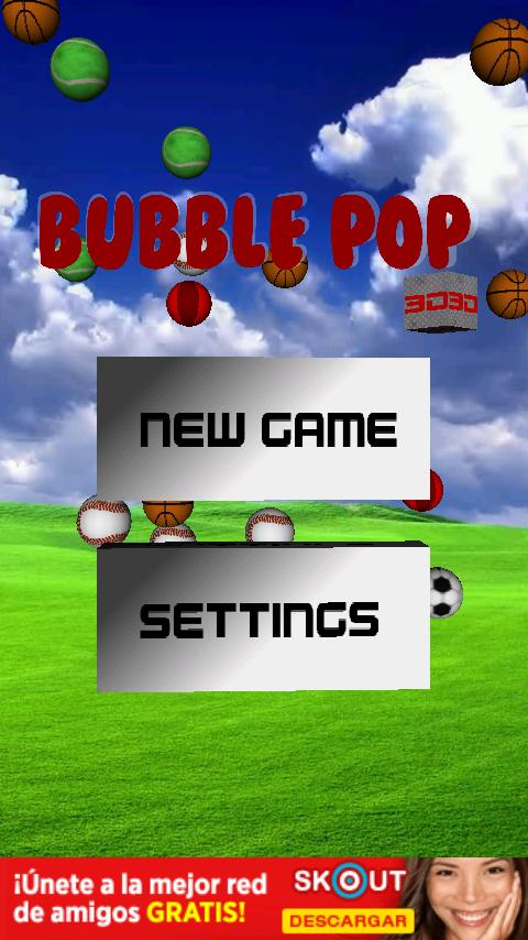 Bubble Pop 3D - screenshot
